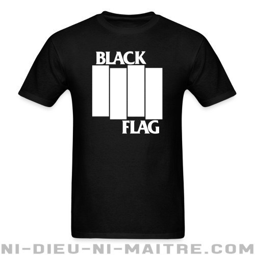 Black Flag - T-shirt Band Merch