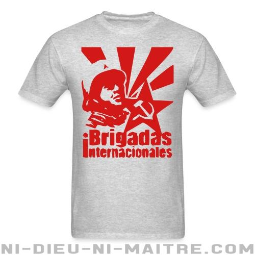 T-shirt ♂ Brigadas internationales  - Révolution espagnole 1936