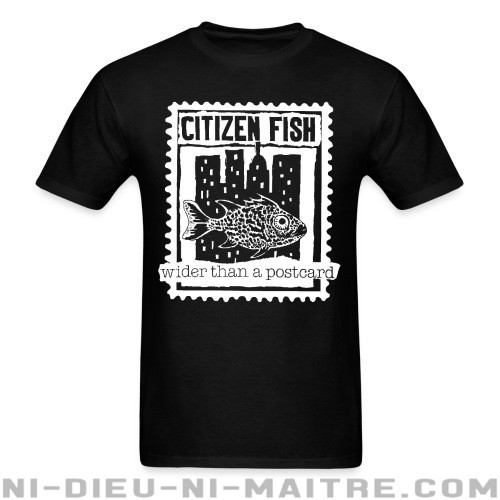 Citizen Fish - Wider than a postcard - T-shirt Band Merch