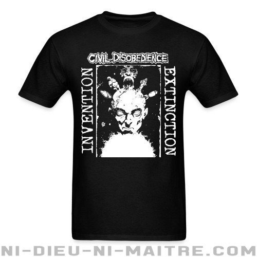 Civil disobedience - invention extinction - T-shirt Band Merch