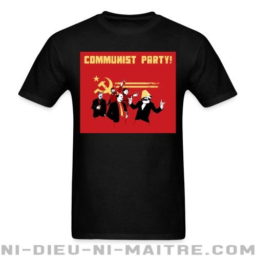 T-shirt standard unisexe Communist party! - Humour