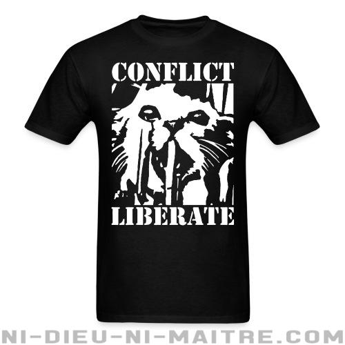 T-shirt standard (unisexe) Conflict - liberate -