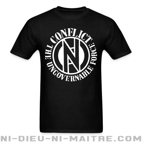 T-shirt ♂ Conflict - The ungovernable force -
