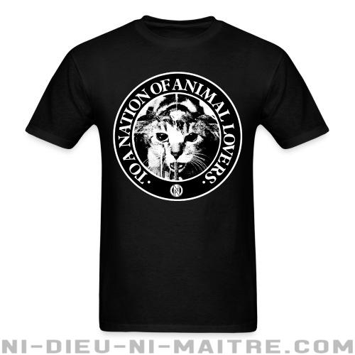 T-shirt standard (unisexe) Conflict - To a nation of animal lovers -