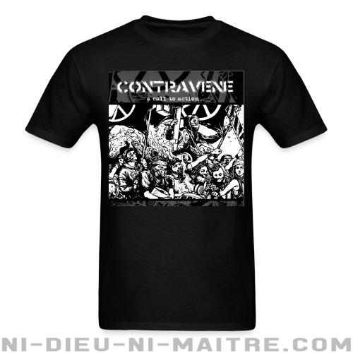 T-shirt ♂ Contravene - A call to action -