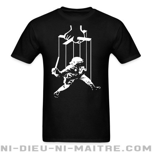 Cops are manipulated - T-shirt ACAB anti-violence-policiere