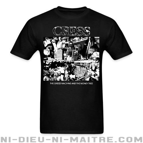 Cress - the greed machine and the money tree - T-shirt Band Merch