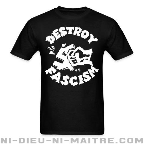 Destroy fascism - T-shirt Anti-Fasciste
