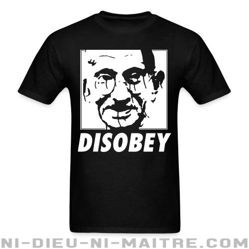 Disobey (Gandhi) - T-shirt anti-guerre