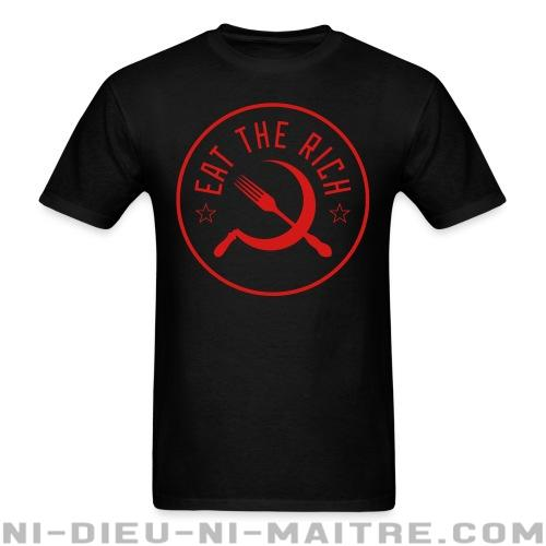 T-shirt standard unisexe Eat the rich  - Working class