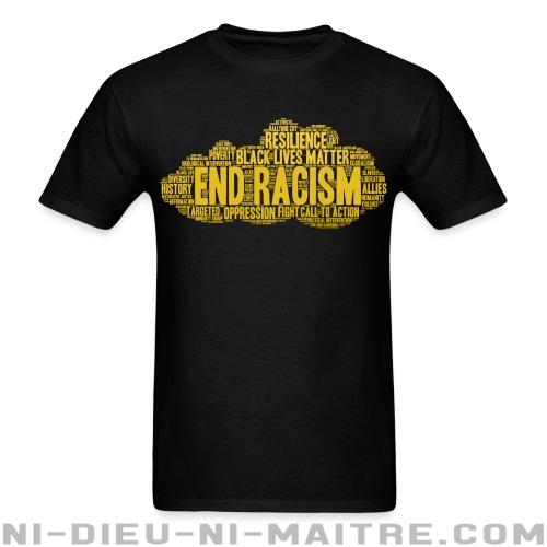 End racism - T-shirt Anti-Fasciste