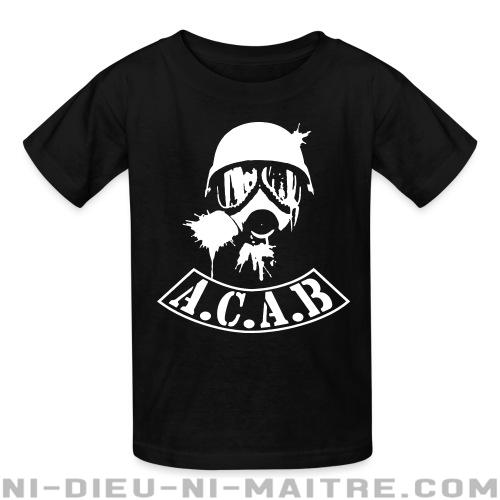 A.C.A.B. All Cops Are Bastards - T-shirts pour enfant ACAB anti-flic