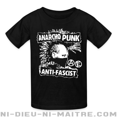 T-shirt enfant Anarcho punk anti-fascist - Punk & marginaux