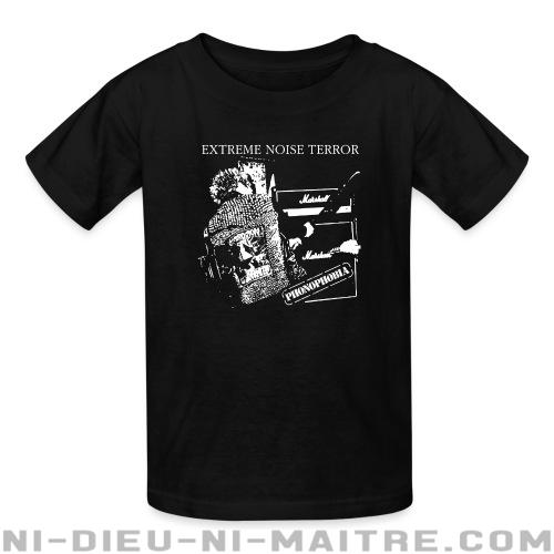 Extreme Noise Terror - phonophobia - T-shirts pour enfant Band Merch