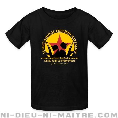 International freedom battalion - T-shirts pour enfant Rojava