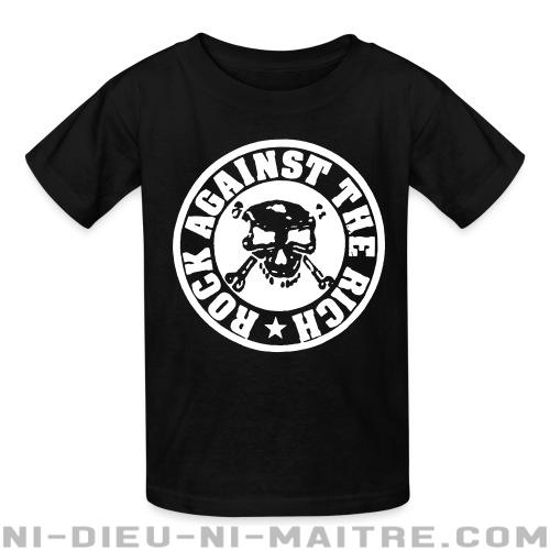 Rock against the rich  - T-shirts pour enfant Punk