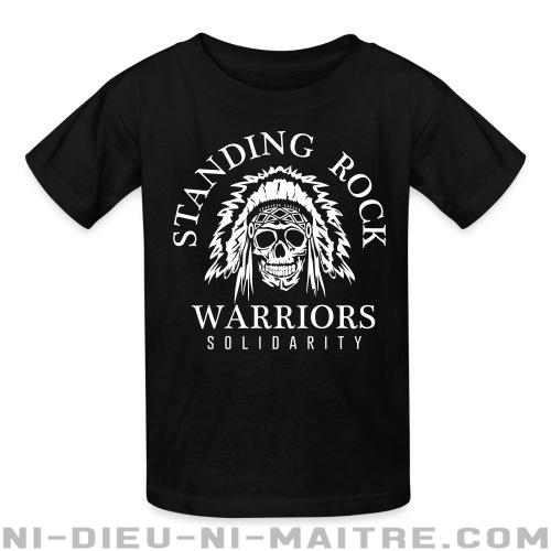 Standing rock warriors solidarity - T-shirts pour enfant Militant