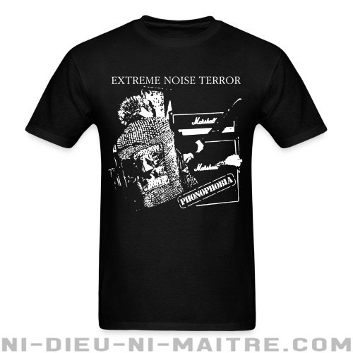 Extreme Noise Terror - phonophobia - T-shirt Band Merch