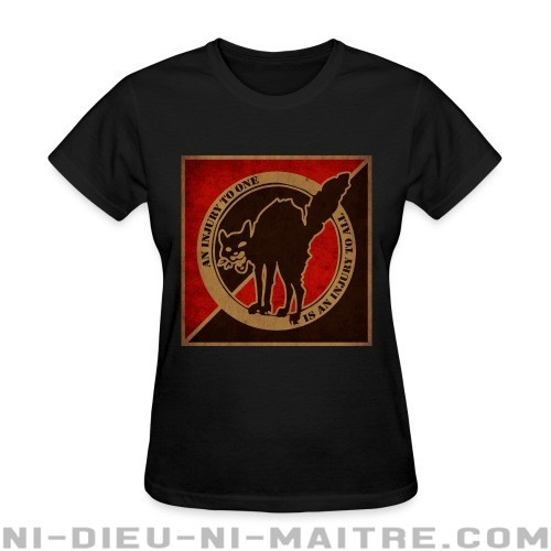 An injury to one is an injury to all - T-shirt féminin Militant