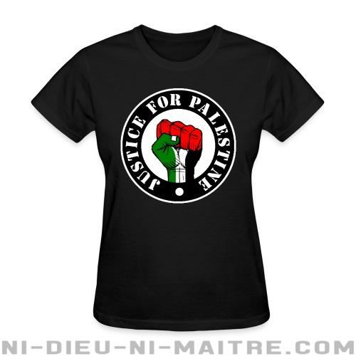 Justice for palestine - T-shirt féminin anti-guerre