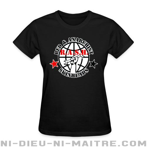 R.A.S.H. Red & Anarchist Skinheads - T-shirt féminin Skinhead