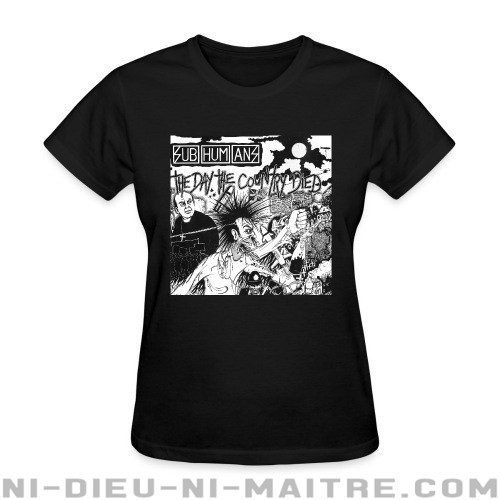 Subhumans - The day the country died - T-shirt féminin Band Merch
