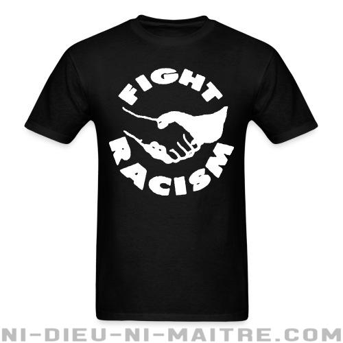 T-shirt ♂ Fight racism - Antifa & Anti-racisme