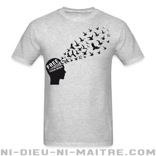 T-shirt ♂ Free your mind - Politique & révolution