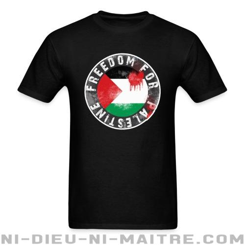 T-shirt ♂ Freedom for palestine - Contre la guerre