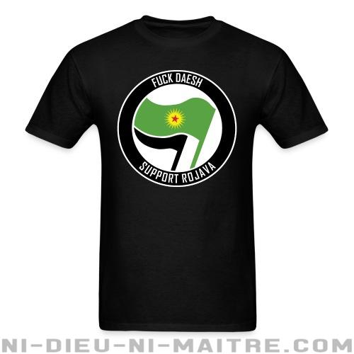 Fuck Daesh. Support Rojava - T-shirt Rojava