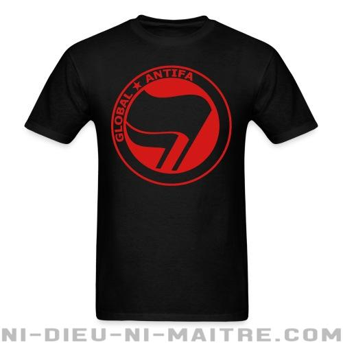 Global antifa - T-shirt Anti-Fasciste