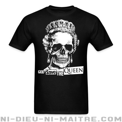 God save the Queen - T-shirt Punk