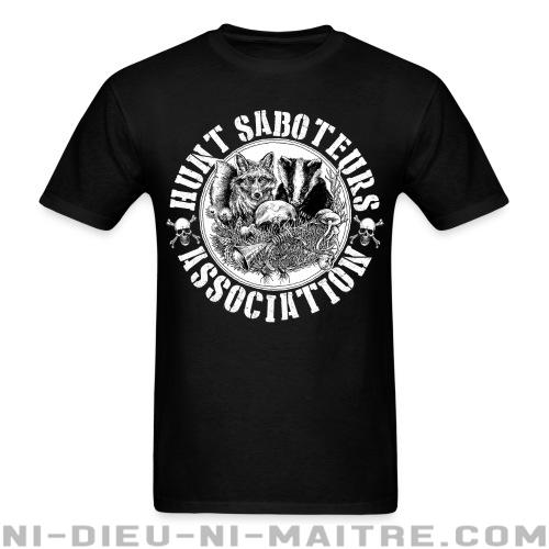 T-shirt ♂ Hunt saboteurs association - Libération animale