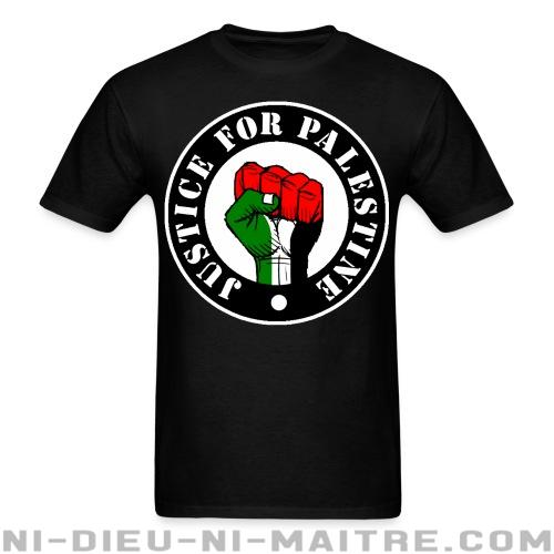 Justice for palestine - T-shirt anti-guerre