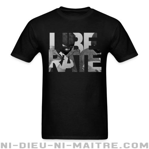 T-shirt ♂ Liberate - Libération animale