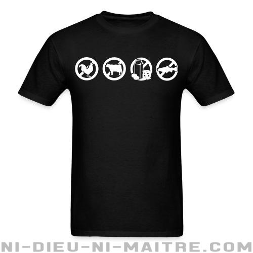 T-shirt standard unisexe  - Vegan & Libération Animale