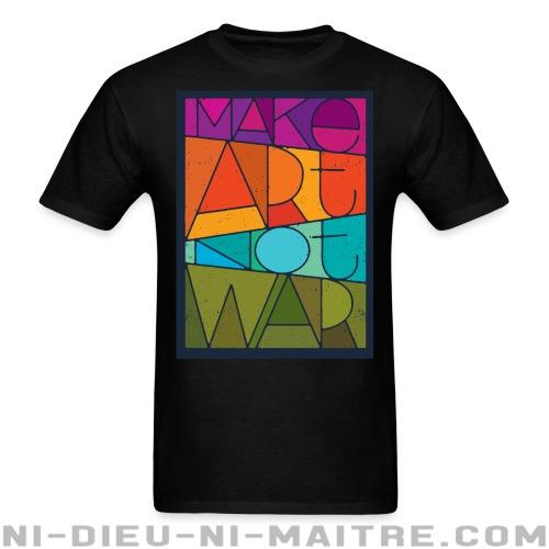 T-shirt standard unisexe Mark art not war - Stop war