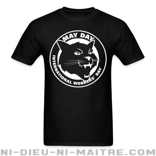 May day international workers' day - T-shirt imprimé au dos Working Class