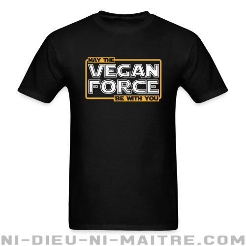 T-shirt standard unisexe May the vegan force be with you - Vegan & Libération Animale