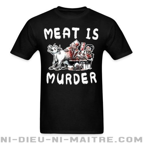 T-shirt ♂ Meat is murder - Libération animale