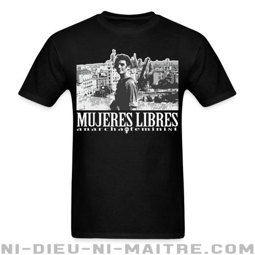 T-shirt standard unisexe Mujeres libres anarcha-feminist - Révolution espagnole 1936