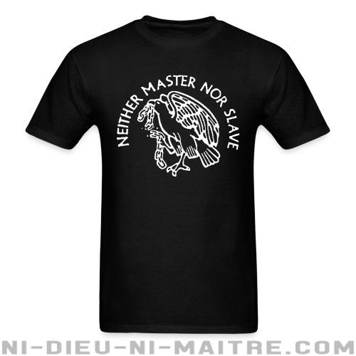 T-shirt standard unisexe Neither master nor slave - T-Shirts Militants