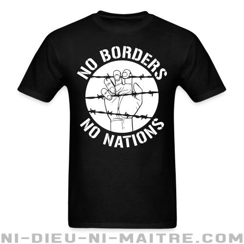 No borders no nations - T-shirt Militant