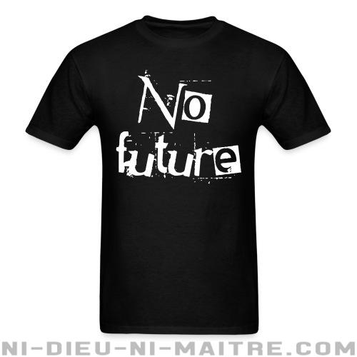 T-shirt standard unisexe No future - Punk & marginaux