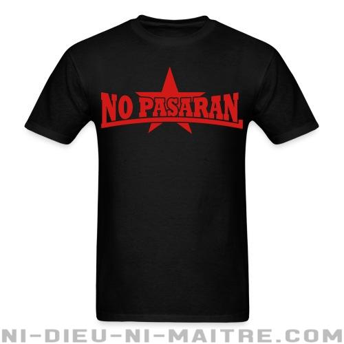 No pasaran - T-shirt Anti-Fasciste