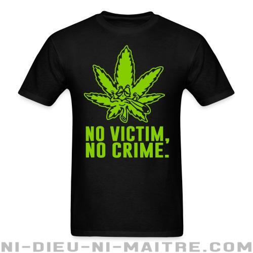 No victim, no crime. - T-shirt humour engagé
