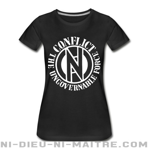 Conflict - The ungovernable force - Organique Femme Band Merch