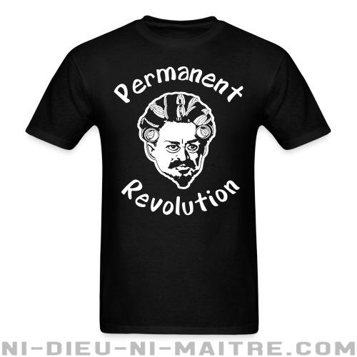 Permanent revolution - T-shirt humour engagé