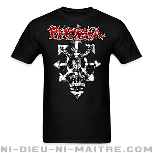Phobia - In grind we crust - T-shirt Band Merch