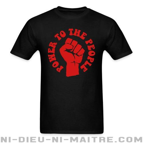 T-shirt standard unisexe Power to the people - T-Shirts Militants